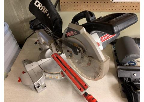 Craftsman Chopsaw with Laser Trac