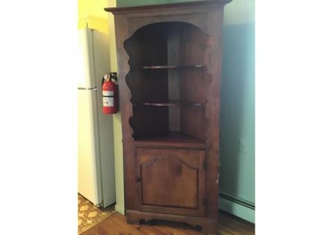 Corner Cabinet -Early American