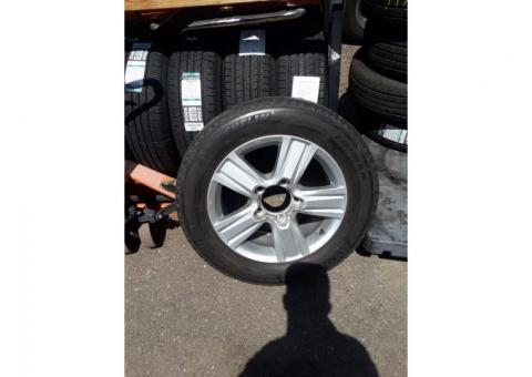 Toyota rims Android tires