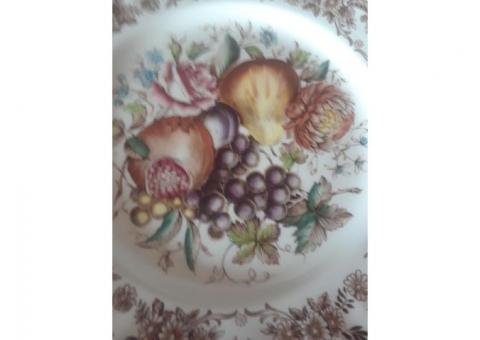 "Harvest Fruit 11"" plates"